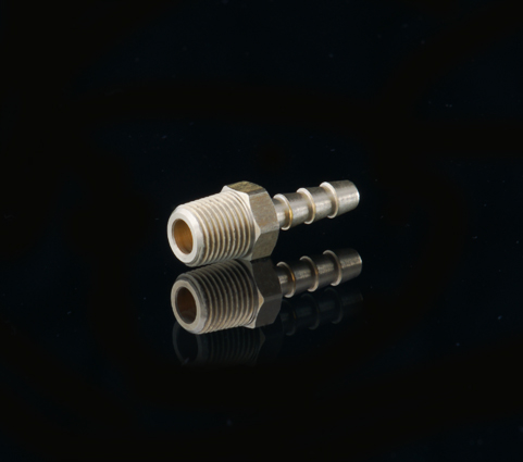 1/8 NPT Brass Tee - Female Ends - National Pipe Thread - Each Side = 1/8